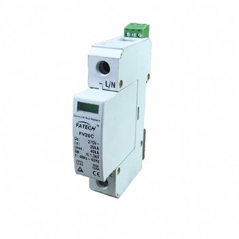 TUV certified 40kA lightning and surge arrester