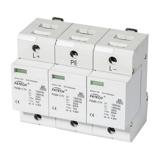 Type 1+2 PV surge protector 1000V